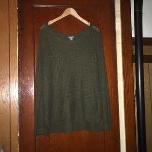 Green Knit Sweater